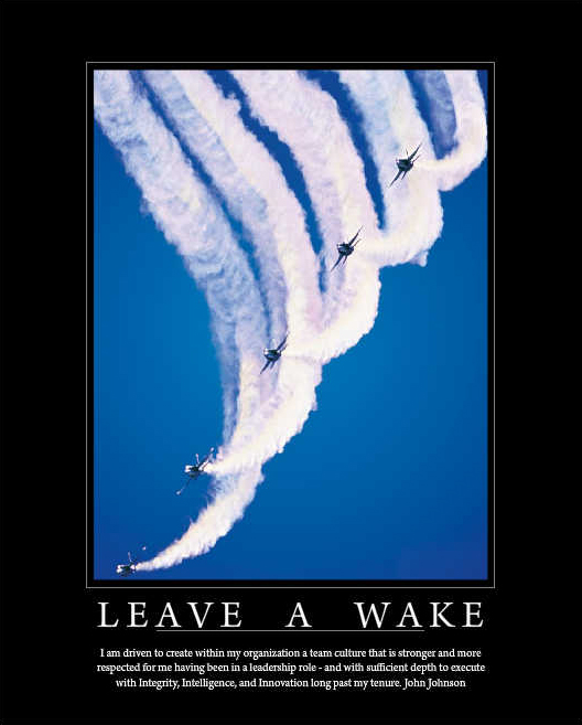Leave a Wake Poster